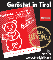 Teddybär Erdnüsse und Clementinen zum Nikolo in Tirol