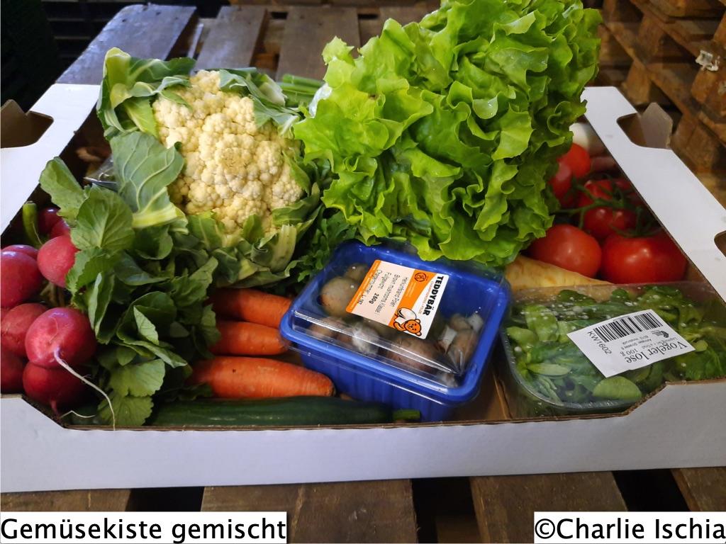 Rampenverkauf für Obst und Gemüse